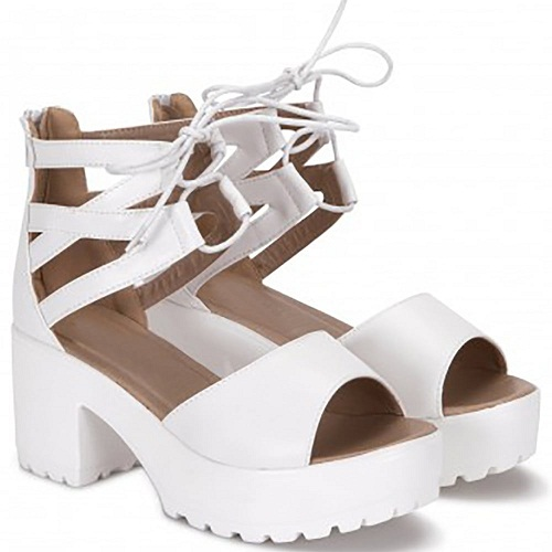Strappy Shoe Sandals