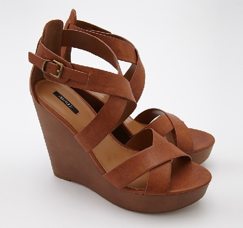 Strappy Wedges Sandals