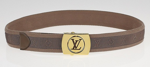 Taupe Fabric Louise Belt