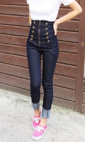 Trendy Pencil Jeans