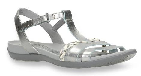 Women's Strap Silver Sandal