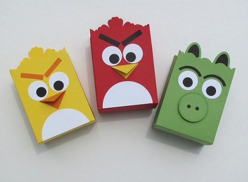 Angry Bird Party Bags