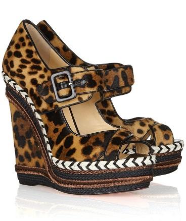 Animal Print Designer Sandals