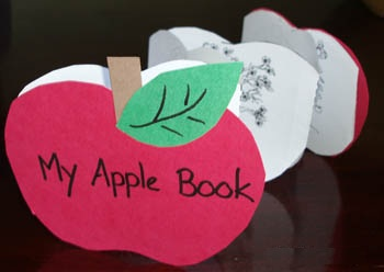 Apple Book as Gifting Craft