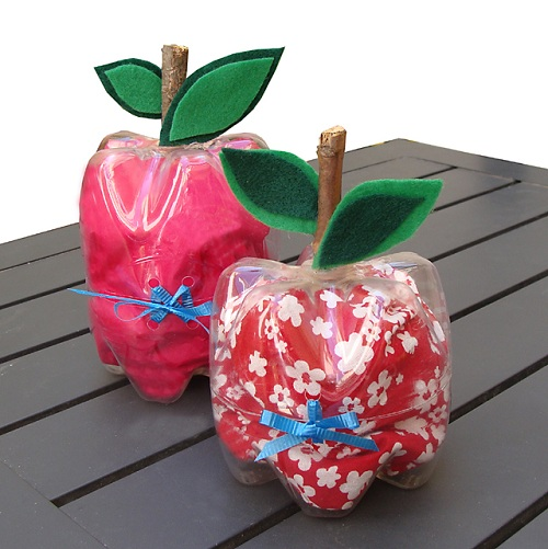 Apple Shaped Plastic Boxes