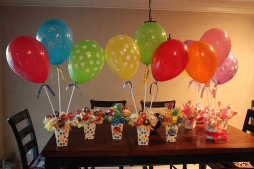 Balloon Birthday Craft