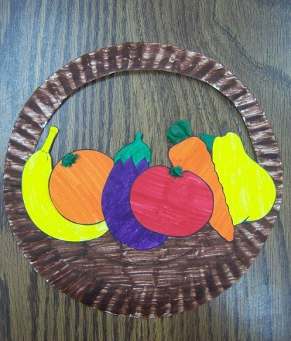 Basket of Fruits Craft