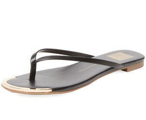 e657b71cb433 This black flip flop sandal for women is the best suited casual outdoor  sandal. The sole of the sandal is made from shiny black synthetic material  and the Y ...