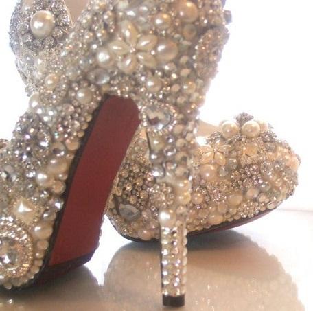 Bubble Heel Sandals