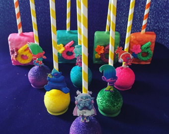 Cake Pop Birthday Craft