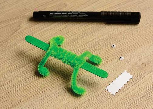 Candy Stick Crocodile