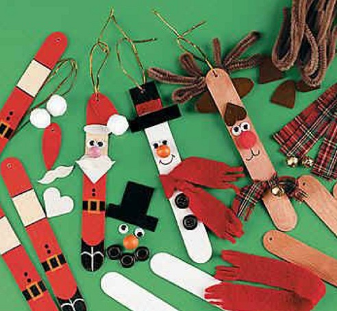 Candy Stick Ornaments