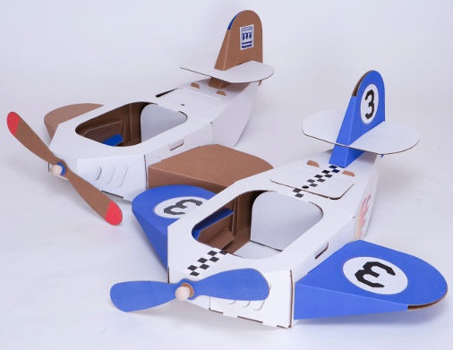 Top 9 easy airplane crafts ideas for kids styles at life cardboard plane craft sciox Choice Image