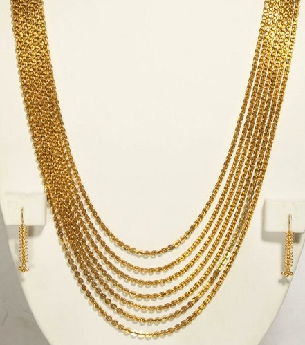 Chandra Haram Seven-line Necklace