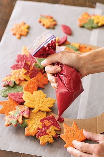 Cookie Fall Craft
