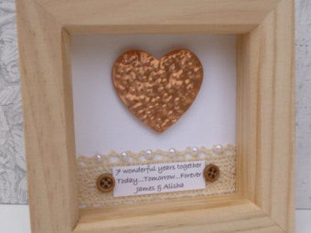 Copper Heart Frame