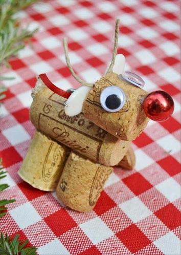 Cork Reindeer