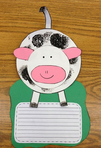 Cow Letterhead Craft