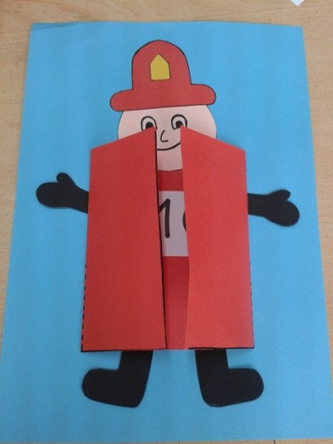 Crafts of Fire Safety for Preschoolers