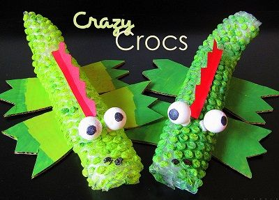 Crazy Crocodile Craft