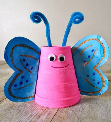 Cup Butterfly Craft