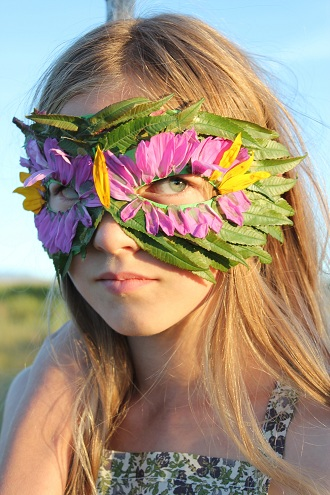 DIY Nature Mask Craft