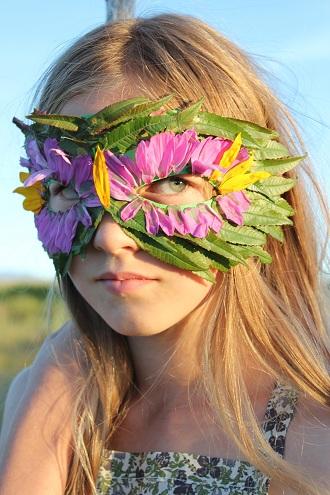 DIY Nature Mask Craft