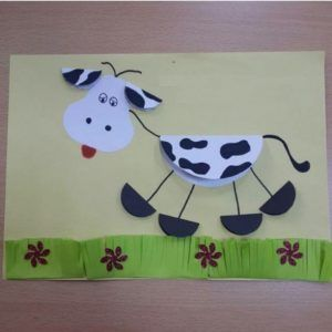 Dancing Cow As A Craft