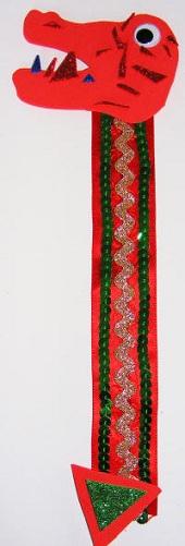 Dragon Bookmark Craft