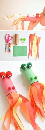 Elegantly Designed Cylindrical Fish Crafts