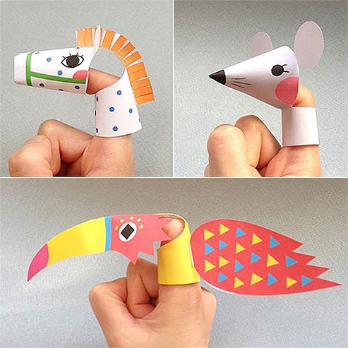 finger puppet craft
