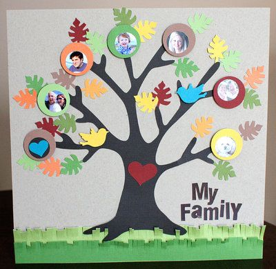 family tree craft - Family Tree Design Ideas