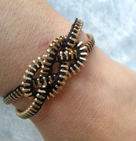 Fashion Bracelet Zipper Crafts