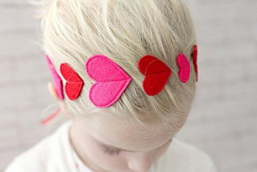 Felt Hair Ribbon