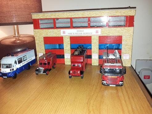 Fire Station Demo Crafts