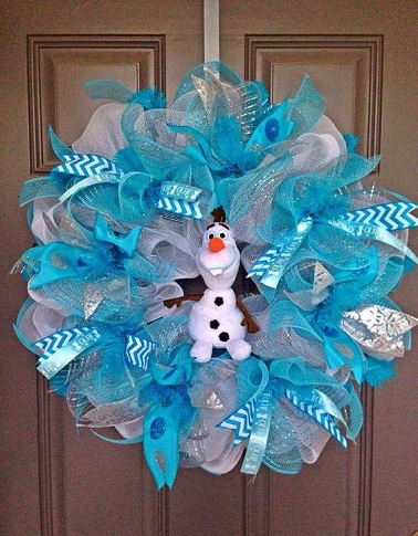 Floral Wreath Frozen Crafts