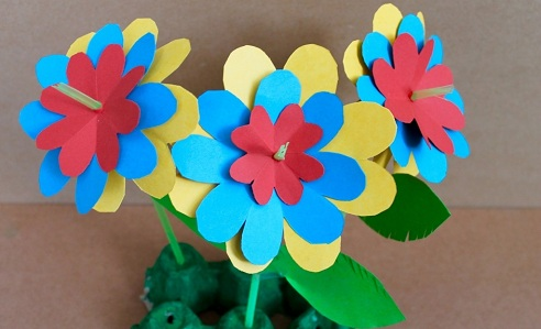 Handcrafted Paper Flower Crafts