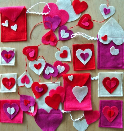 Heart Pouches for Gift