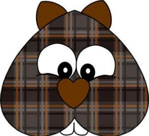 Heart Shape Beaver