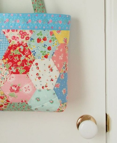 Hexagon Bag Fabric Craft