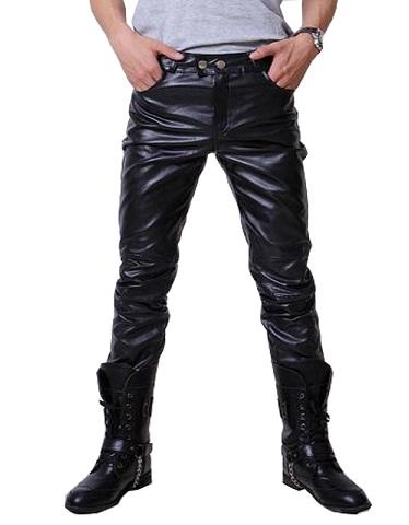 Hip Hop Leather Pants