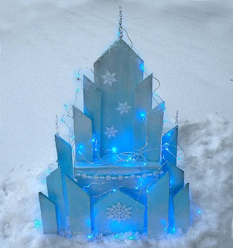 Ice Castle Frozen Crafts