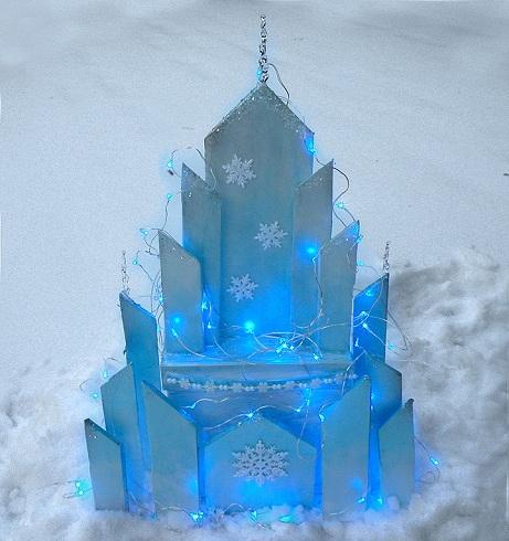 Ice Castle Frozen Crafts