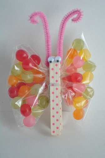 Jelly Bean Butterfly Craft