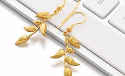 4 gram gold earrings designs