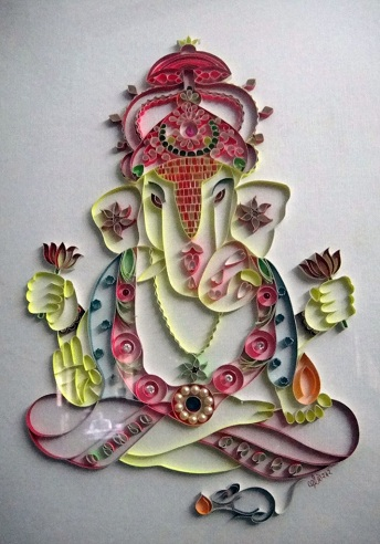 Lord Ganesh Paper Craft