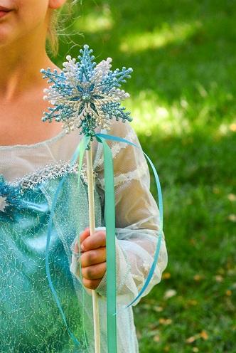 Magical Wand Frozen Crafts