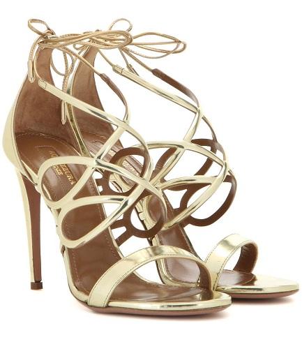 Metallic Designer Sandals