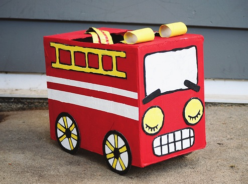Miniature of Fire Engine Crafts