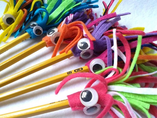 Monster Pencil Topper